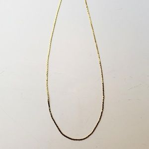 """Jewelry - Womens 14 K Gold Rope Necklace 18"""""""
